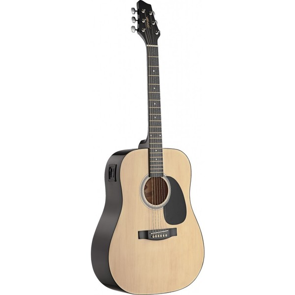 Stagg SW201N-VT Natural Dreadnought Acoustic/Electric Guitar