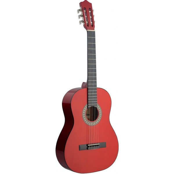 Stagg C542 TR Dark Red Classical Guitar