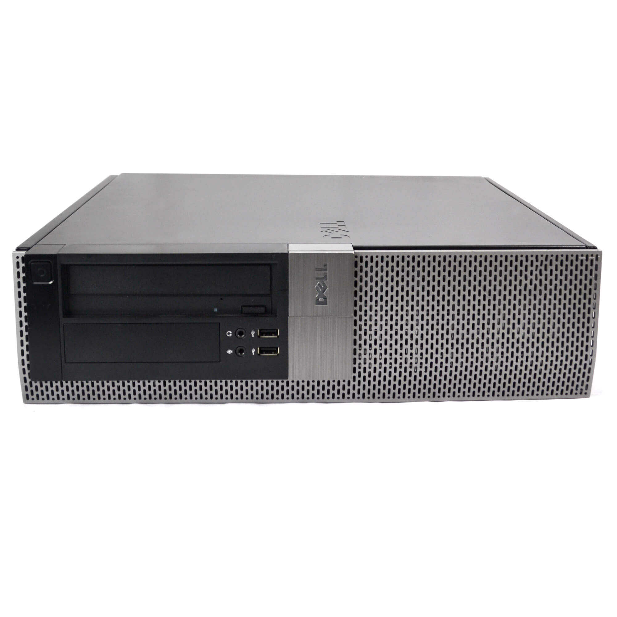 Refurbished Dell Gray Optiplex 980 Desktop Intel i5 Dual Core 3.2GHz 8GB RAM 250GB HDD Intel HD Graphics DVD-RW Windows 10 Professional 19'' Display Keyboard Mouse