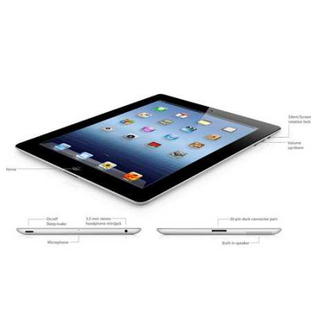 Apple iPad 4 with Wi-Fi 32GB - Black (Certified Refurbished)